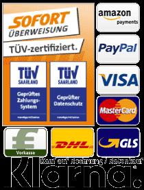 Dartshop Zahlungsarten