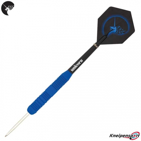 Unicorn Core Plus Rubberised Blue Steeldarts 08650 Dart