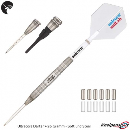 Unicorn Ultracore Two Darts - 17-26g 05119 Übersicht