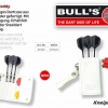 Bull's Caddy Ledertasche Softdart - weiß