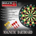 Bull's Magnetic Dartboard Set