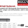 Bull's BE-11 Soft Dart Barrel 65941 65942 2