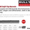 Bull's BE-13 Soft Dart Barrel 65947 65948