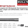Bull's BE-17 Soft Dart Barrel 65962 65963 2