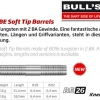 Bull's BE-26 Softdart Barrel 65973 65974 2
