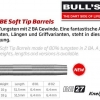 Bull's BE-27 Softdart Barrel 65985 65986 2