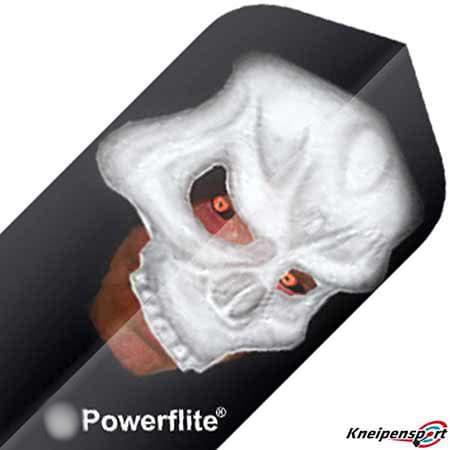 """Bull's Powerflite Flights """"Skull"""" - Slim - design 50762"""