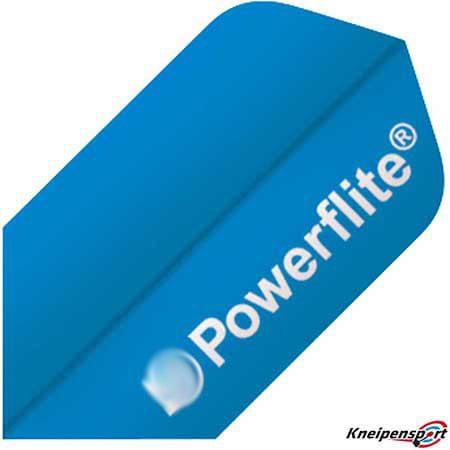 Bull's Powerflite Flights - Slim - blau 50774