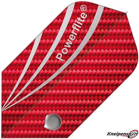 Bull's Powerflite Flights - Slim - rot 50795