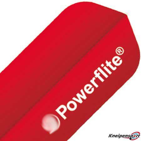 Bull's Powerflite Flights - Slim - rot 50757 80757