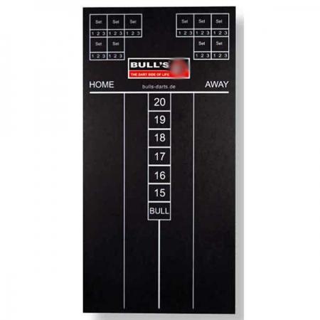 Bull's Punktetafel - 30x60cm - schwarz 67301
