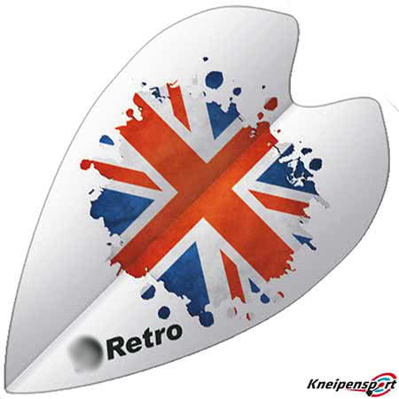 "Bull's Retro Flights ""UK"" - Retro - design 50960"