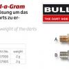 Bull's Schraubgewicht Add-A-Gram Übersicht 57906 57905