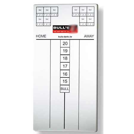 """Bull's Scoreboard """"Marker"""" - weiß 67037"""