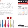 Bull's Star Softspitze - Short - Übersicht 61901 61911