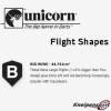 Unicorn Flight Shape Info Big Wing