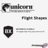 Unicorn Flight Shape Info Big Wing XL