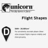 Unicorn Flight Shape Info DXM