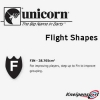 Unicorn Flight Shape Info Fin