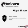 Unicorn Flight Shape Info Shield