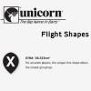 Unicorn Flight Shape Info Xtra