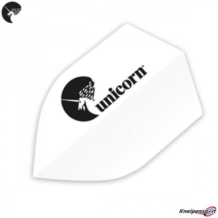 "Unicorn Maetsro 100 Flights ""Unicorn Logo"" - Shield - weiß 68609"