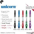 Unicorn Twist Alu Shaft Übersicht 78750