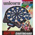 Unicorn Softdart Board Set 79596 verpackung