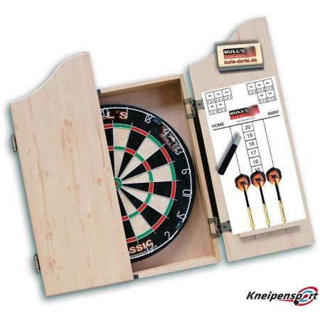 Bull's Classic Dartboard mit Kabinett