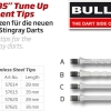 "BULL'S ""B5"" Tune Up replacement Stahlspitzen D Medium silber 57621 Gruppe 1"