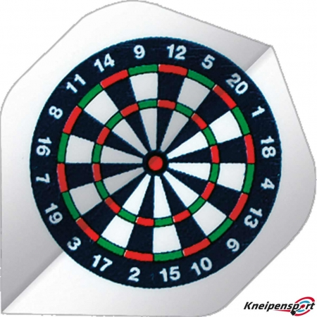 BULL'S Base Flights – Dartboard A-Standard design 51906 Featured 1