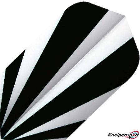 BULL'S Base Flights – Zebra Slim design 51954 Featured 1