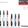 BULL'S Cetra Aluminium Shaft Short rot 54413 Gruppe 1
