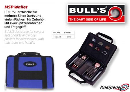 BULL'S Dartcase MSP Standard blau 66319 Featured 1