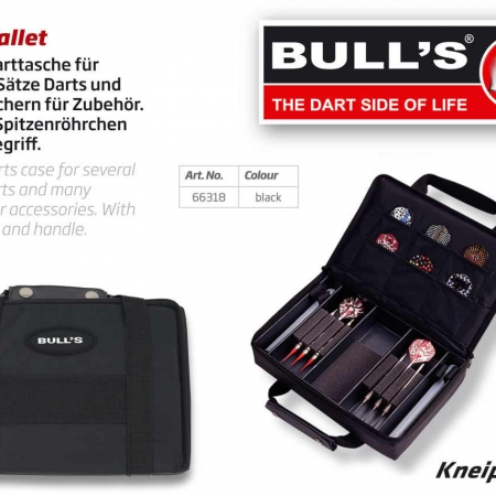 BULL'S Dartcase MSP Standard schwarz 66318 Featured 1