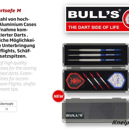 BULL'S Dartsafe Medium silber 66351 Featured 1