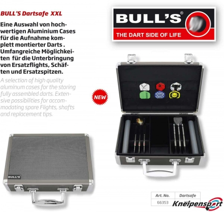 BULL'S Dartsafe XXL silber 66353 Featured 1