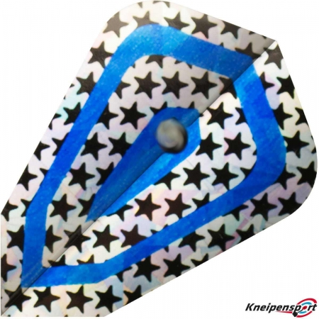 "BULL'S Diamond Flights ""Blue Stars"" Fantasy design 52866 Featured 1"