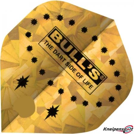"BULL'S Diamond Flights ""yellow Stars"" A-Standard design 52505 Featured 1"