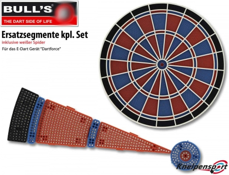 BULL'S Ersatzsegmente Satz Dartforce Standard multi 67949 Featured 1