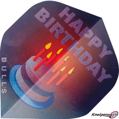 "BULL'S Motex Flights ""Happy Birthday"" A-Standard design 52240 Featured 1"