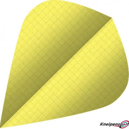 BULL'S Nylon Flights 6-Pack Kite gelb 81593 Featured 1