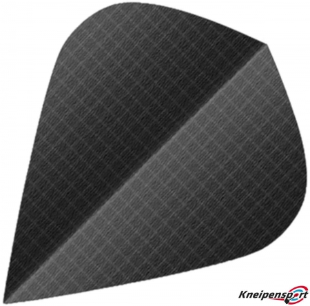 BULL'S Nylon Flights 6-Pack Kite schwarz 81594 Featured 1