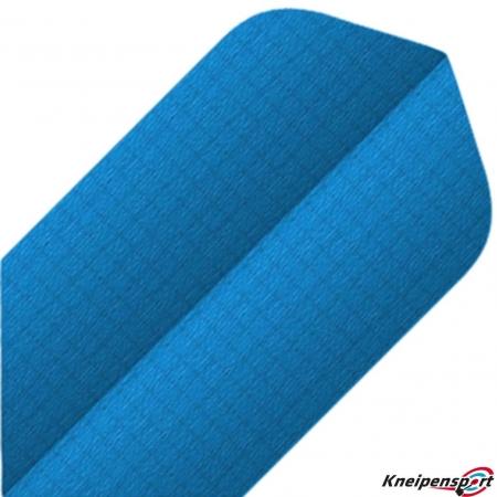 BULL'S Nylon Flights 6-Pack Slim blau 81557 Featured 1