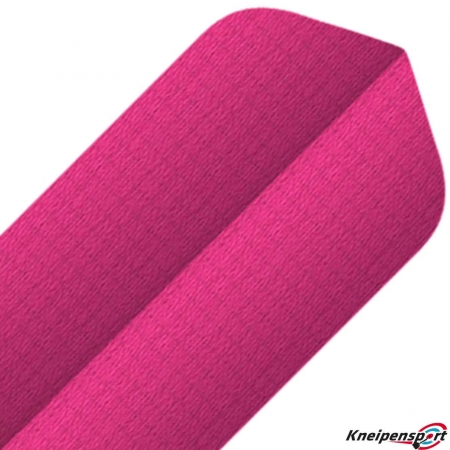 BULL'S Nylon Flights 6-Pack Slim pink 81552 Featured 1