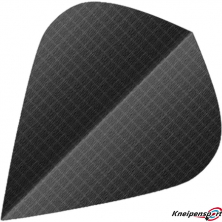 BULL'S Nylon Flights Kite schwarz 51594 Featured 1