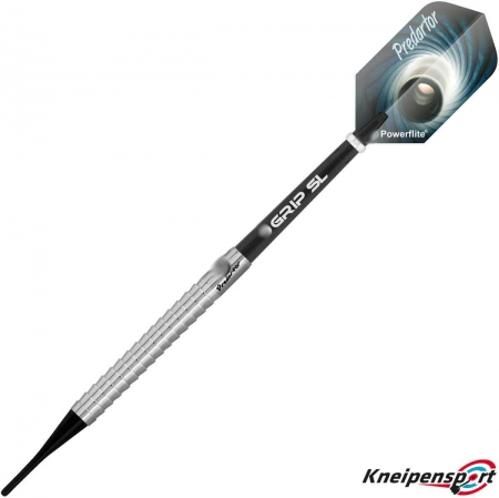 BULL'S Predartor P1 Soft Dart 18g silber 17718 Featured 1