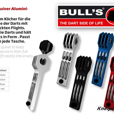 BULL'S Quiver Dart Case Standard silber 66366 Featured 1