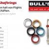 BULL'S Shaft Aluminiumring Standard blau 56812 Gruppe 1