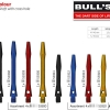 BULL'S Simplex Aluminium Shaft Medium blau 53302 Gruppe 1